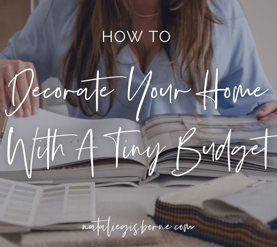 Decorate Home With Tiny Budget