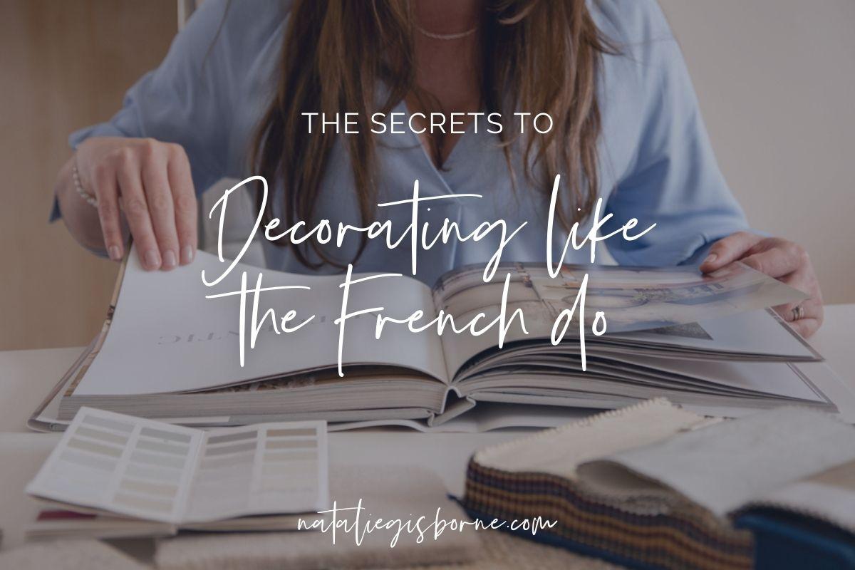 Secret To Decorate