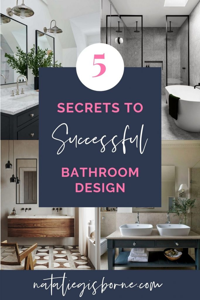 how to design a bathroom