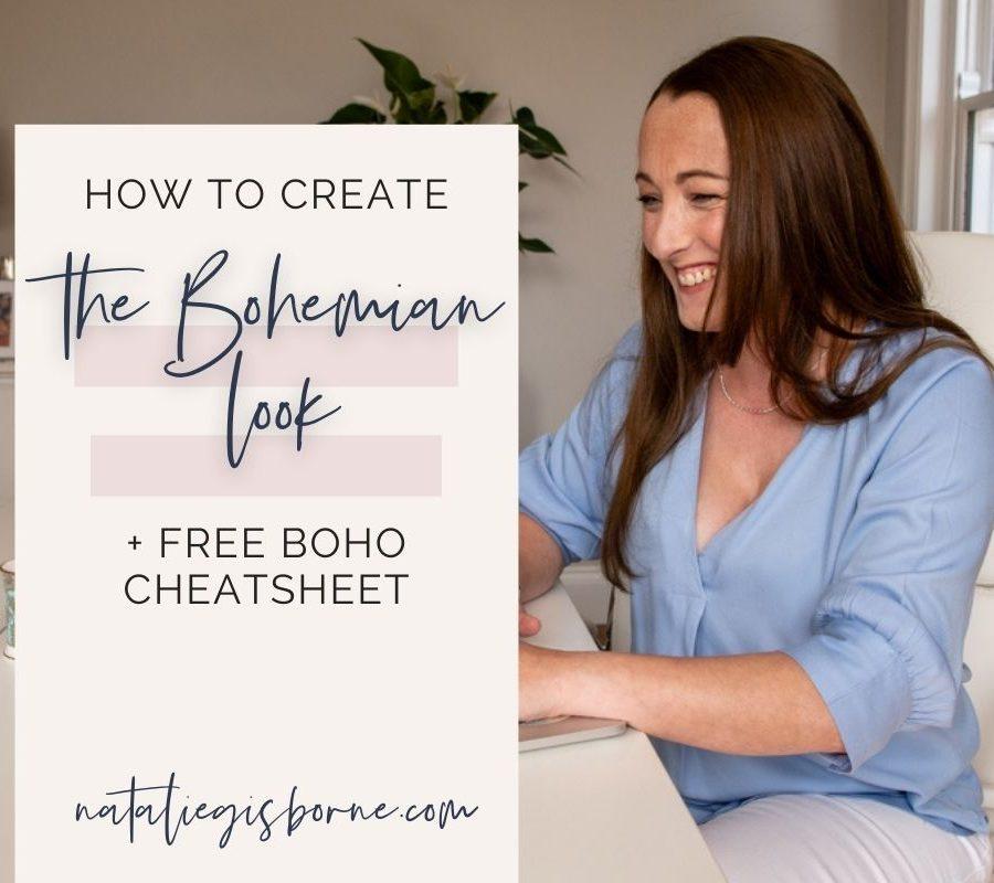 The Bohemian look
