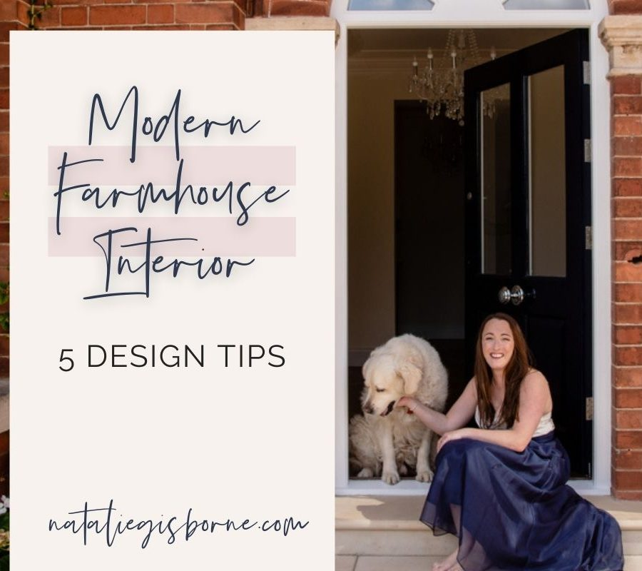 5 Design Tips To Create A Modern Farmhouse