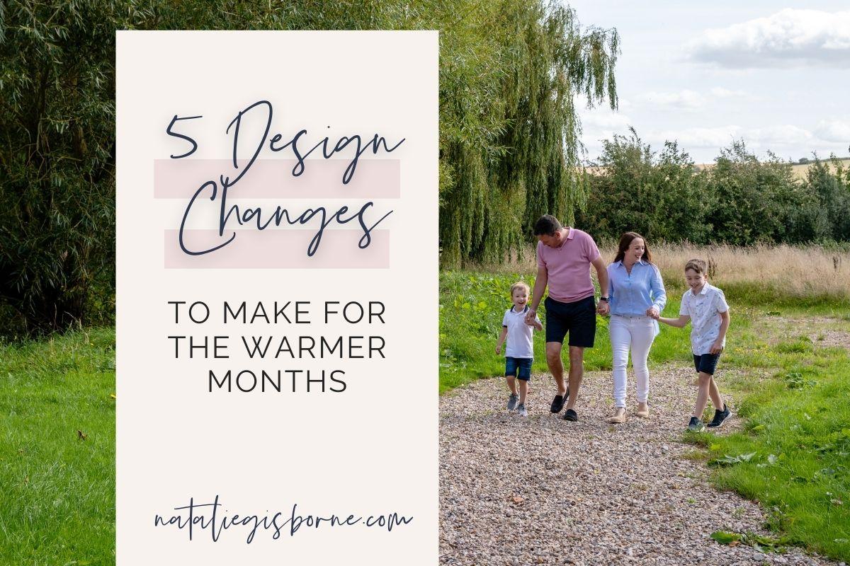 5 Design Changes