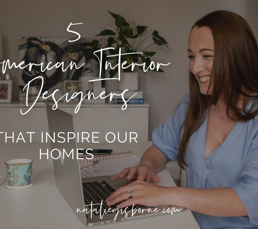 5 American Interior Designers