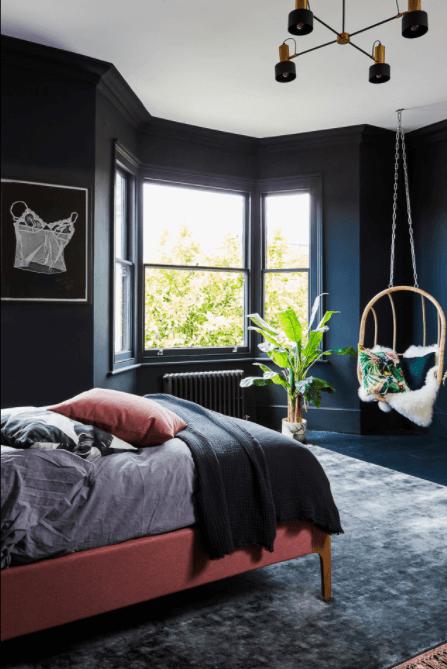 Navy Bedroom Ideas