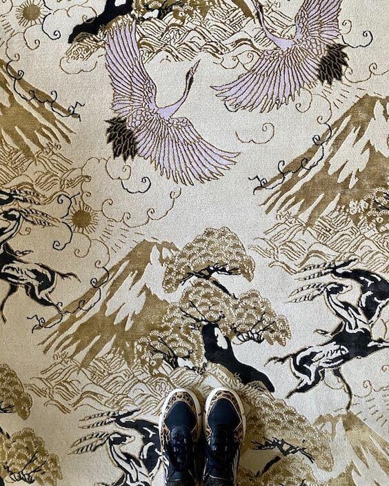 finding design inspiration in fabrics