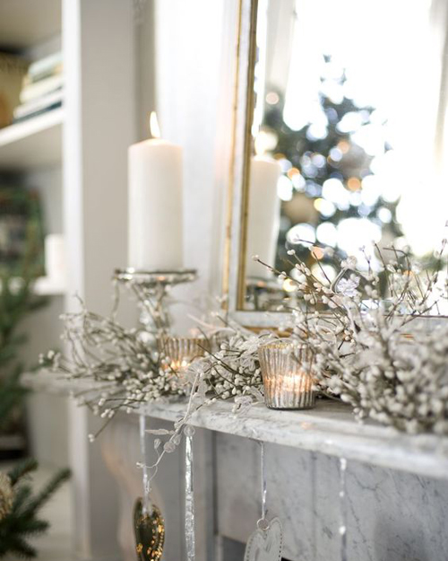 Candles Decoration Look