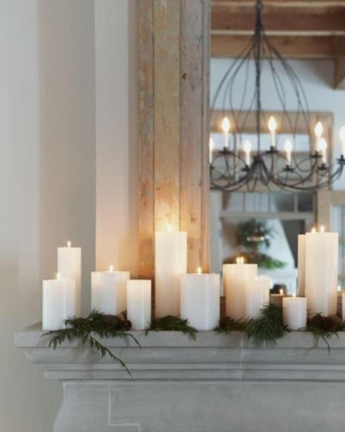 Room Decoration With Candle Light's