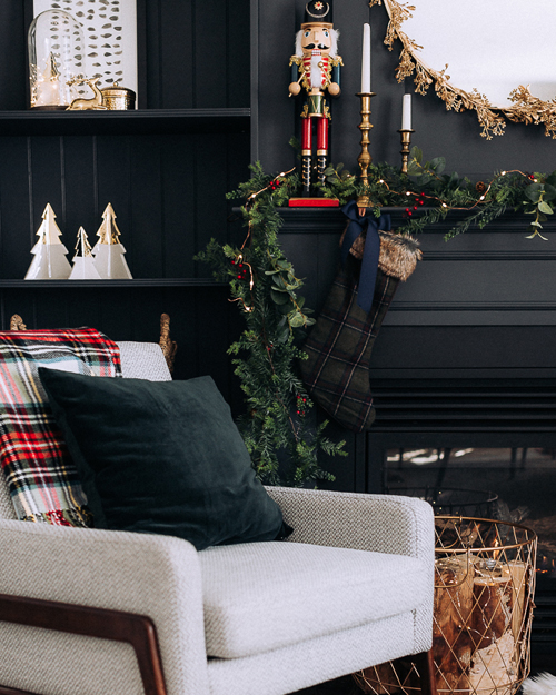 Fire Place Christmas Design