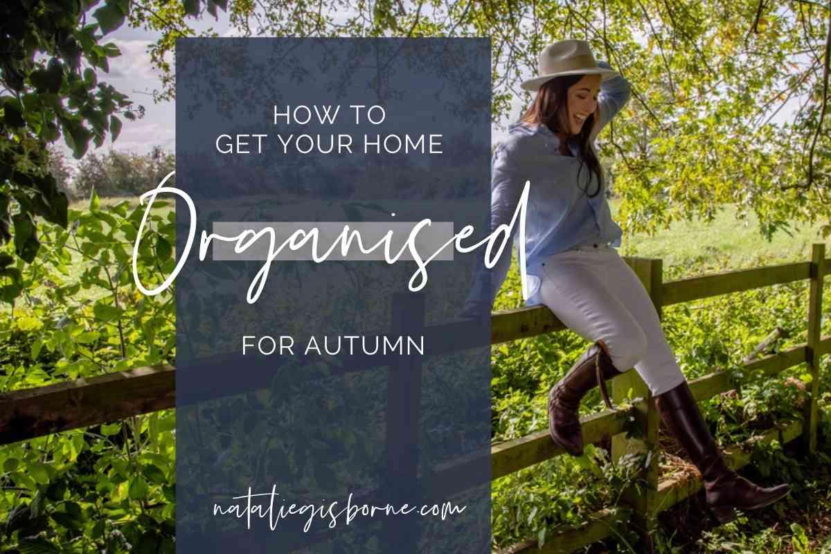 Organise Autumn
