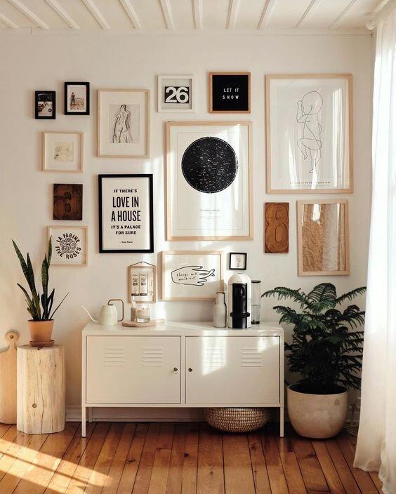 Iamge Designing on Wall
