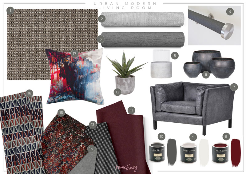 Urban-Modern-Living-Room-Fabrics