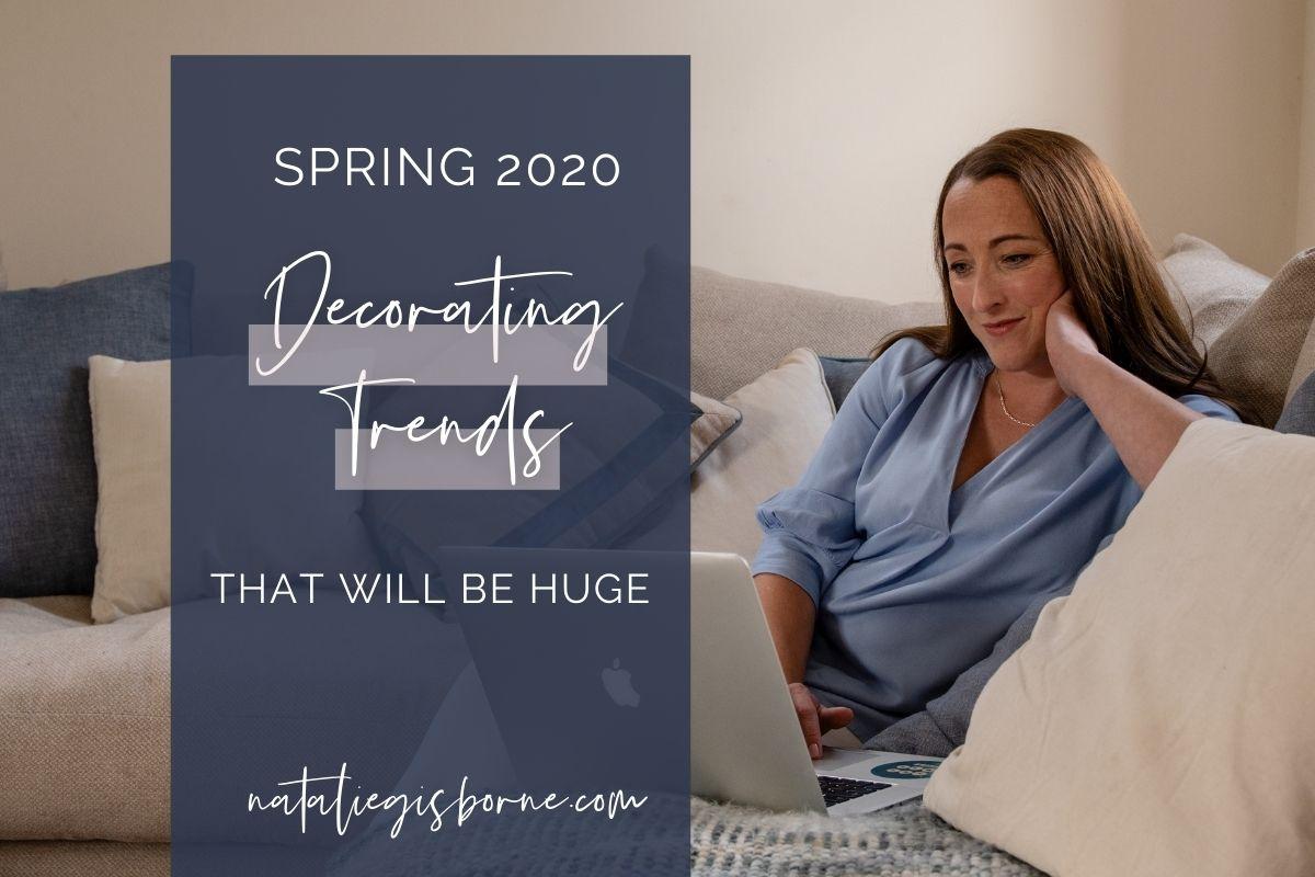 decorating trends 2020